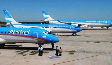 Imagen de Coronavirus: Aerolíneas Argentinas y Austral se fusionarán y formarán una única compañía