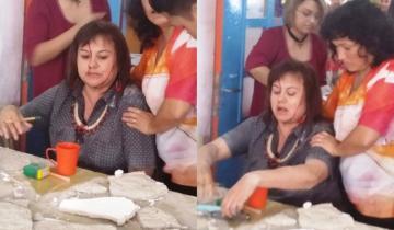Imagen de Una docente resultó herida tras el derrumbe del techo de una escuela