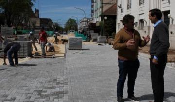 Imagen de Etchevarren anunció la continuidad de la obra de centralidad en Dolores