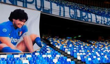 """Imagen de Nápoles ofrece el """"Diego Maradona"""" para el Italia-Argentina"""
