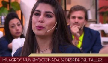 """Imagen de La joven dolorense quedó eliminada del reality show """"Corte y Confección"""" que se emite por Canal 13"""