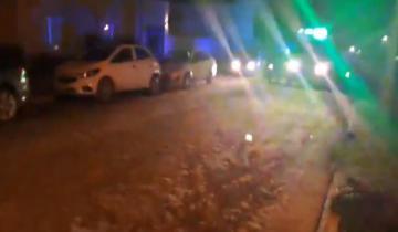 Imagen de Perdió el control de su moto y cayó, tiene heridas