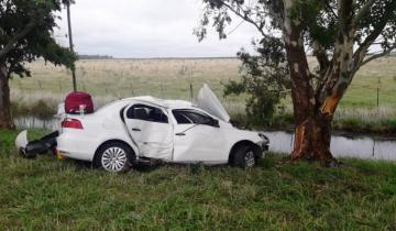 Imagen de Grave accidente en la Ruta 63: falleció el bebé de 8 meses que viajaba en el auto