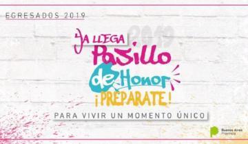 Imagen de Pasillo de honor: propuesta para festejar el egreso de las secundarias bonaerenses