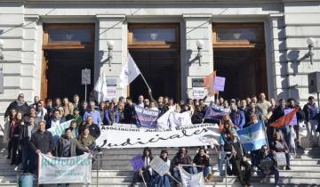 Imagen de Con fuertes críticas a la gobernadora, hoy para el Poder Judicial Bonaerense