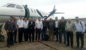 Imagen de Vuelo de bautismo: aterrizó el primer avión de Sapsa en Villa Gesell