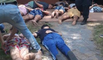 Imagen de La fiscal solicitó que los ocho detenidos sean considerados coautores
