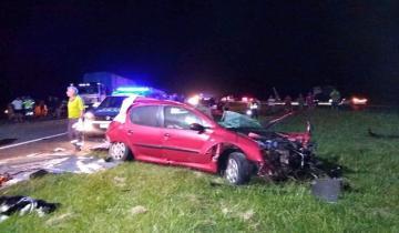 Imagen de Dos fallecidos en un accidente en la Ruta 2