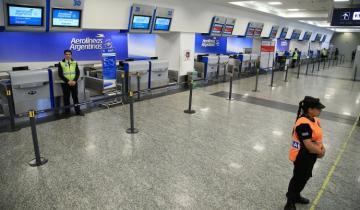 Imagen de Luego de la huelga, se normalizaron los vuelos en Aeroparque