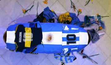 Imagen de El adiós a Diego Maradona: cómo fue la despedida íntima de familiares y amigos en la Casa Rosada