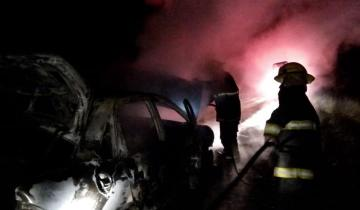 Imagen de Dos automóviles se incendiaron en las últimas horas