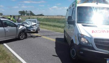 Imagen de Tres heridos en un accidente en la Ruta 11