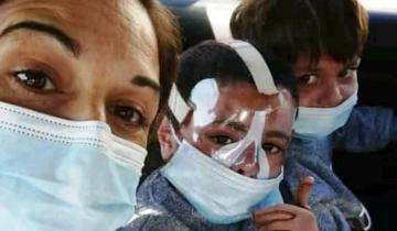 Imagen de General Madariaga: los 2 hermanitos heridos en el incendio dejaron el hospital luego de 50 días