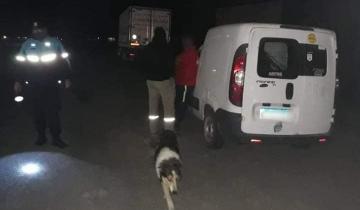 Imagen de Circulaban borrachos y fueron detenidos en la Ruta 2