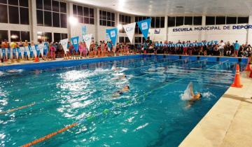 Imagen de Unos 200 participantes compitieron en la 3ª fecha de la Liga Municipal de Natación de La Costa