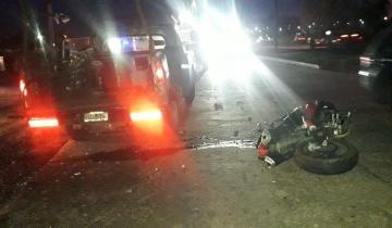 Imagen de Murió un vecino de Dolores que viajaba en moto en un accidente cerca de La Plata