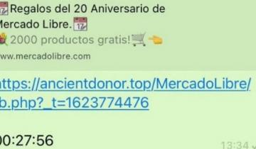 Imagen de Estafa virtual: Mercado Libre advirtió a los usuarios de WhatsApp sobre un mensaje falso que circula en su nombre