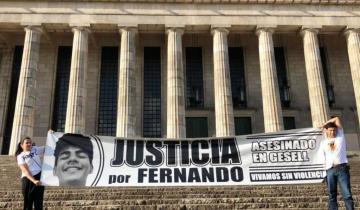 """Imagen de El crimen de Villa Gesell: la novia de Fernando dijo tener """"miedo"""" de que los rugbiers acusados queden en libertad"""