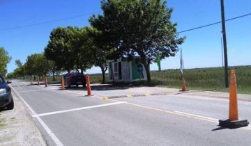 Imagen de General Lavalle: colocaron reductores de velocidad en el acceso al Casco Urbano