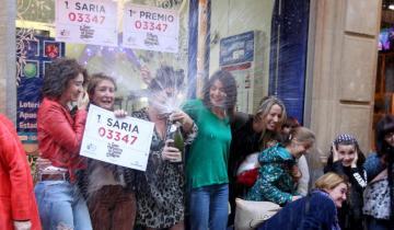 Imagen de Dos argentinas ganaron 35 millones de pesos en el Gordo de Navidad de España