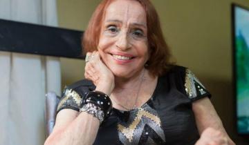Imagen de Falleció la legendaria actriz y bailarina Amelita Vargas
