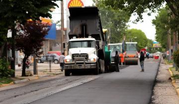 Imagen de Repavimentan calles en Santa Teresita y también lo harán en San Bernardo
