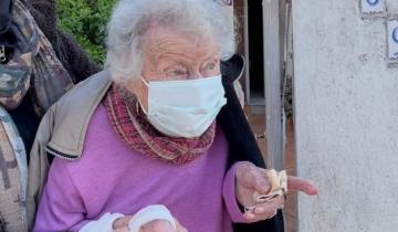 Imagen de Santiago Cafiero publicó el video de Serena, la vecina del Partido de La Costa que se vacunó a los 97 años