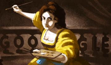 Imagen de Quién fue Artemisia Gentileschi, la mujer que Google homenajea hoy en su doodle