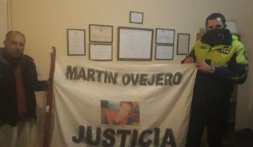 Imagen de Continúa su caminata el hombre que pide justicia por su hijo