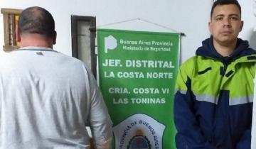 Imagen de Intentó agredir a un policía en Las Toninas y terminó en la comisaría
