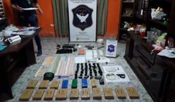 Imagen de Secuestran drogas y dinero en efectivo en viviendas de Mar del Tuyú