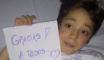 Imagen de Operaron a Tomás, el nene de Villa Gesell que estuvo dos meses internado esperando un stent
