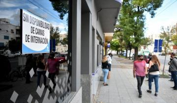 Imagen de Dramático: en Mar del Plata varias clínicas ya no tienen camas y en Bahía Blanca la terapia está al 70%
