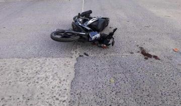 Imagen de Dolores: una persona está en grave estado tras un fuerte accidente de tránsito