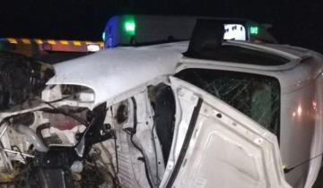 Imagen de 2 muertos y 4 heridos en la Ruta 56 cerca de Conesa