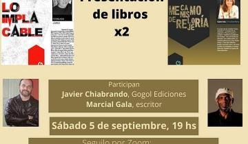 Imagen de #ENTRELINEASEnCasa: esta tarde se presentan la nueva novela de Gabriela Urrutibehety y el último libro de Fernando López