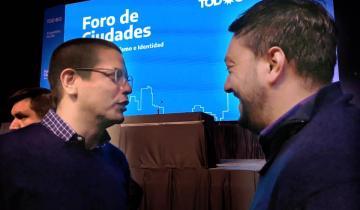 Imagen de Cardozo participó en Rosario de un Foro de Ciudades con Alberto Fernández