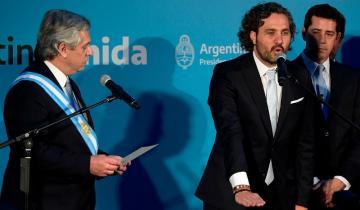 Imagen de Alberto Fernández les tomó juramento a sus ministros