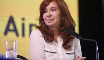 """Imagen de """"Cristina presidenta"""", el hit que CFK bailó ante la militancia en la Feria del Libro y que acrecentó las versiones de su candidatura"""