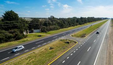 Imagen de Aubasa pavimentó otro tramo nuevo de la Ruta 2 entre Dolores y General Guido