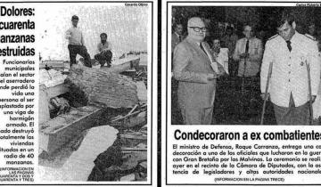 Imagen de A 35 años del tornado que destruyó buena parte de Dolores