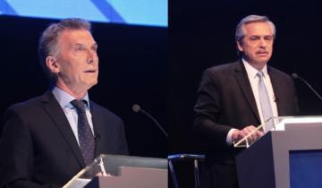 Imagen de Fernández y Macri reeditarán el duelo del debate en Mar del Plata