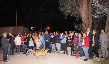 Imagen de Dolores: se inauguró la iluminación en el barrio Peñoñori