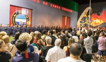 Imagen de Los Bomberos Voluntarios de Santa Teresita celebraron su 50° aniversario