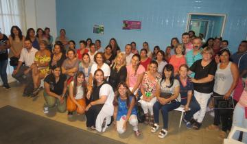 Imagen de Dolores: comenzó el curso de Cuidadores Domiciliarios