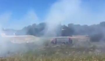 Imagen de Por segundo día consecutivo se incendió el mismo lugar en Villa Gesell