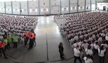 Imagen de Cómo fue la capacitación de Defensa Civil de La Costa a los futuros policías en La Plata