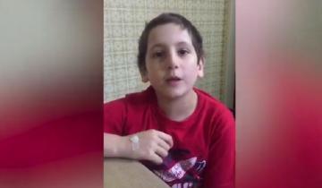 Imagen de Conmovedor: tiene 10 años y pide ayuda para un nene que tiene leucemia, como él