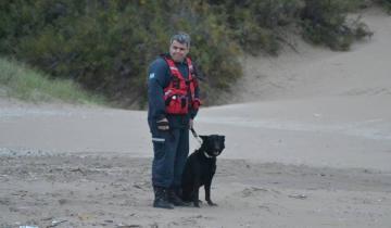 Imagen de Murió una emblemática perra de la Brigada Canina K-9 de los Bomberos de Santa Teresita
