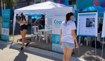 Imagen de El ministerio de Trabajo instaló centros de atención móviles en la Costa Atlántica